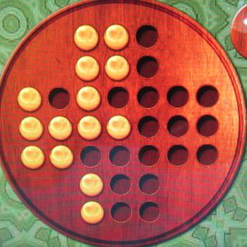 Прохождение китайских шашек: Шаг 19