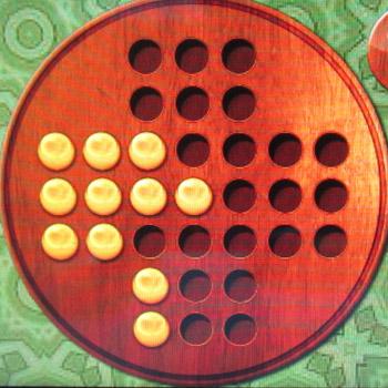 Прохождение китайских шашек: Шаг 22