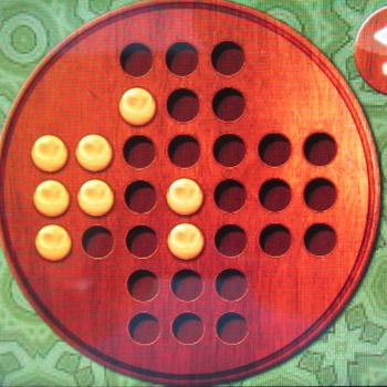 Прохождение китайских шашек: Шаг 25