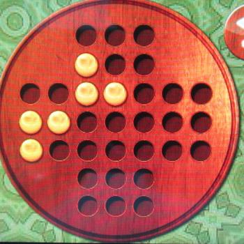 Прохождение китайских шашек: Шаг 27