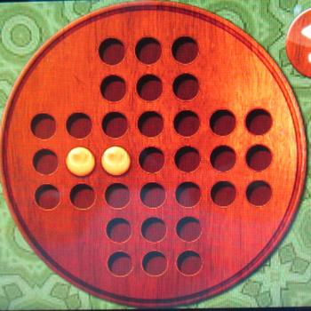 Прохождение китайских шашек: Шаг 31